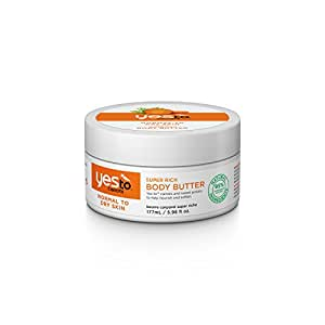 yes to carrots - super rich body butter - normal to dry skin - 177 mL