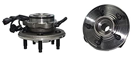 Brand New (Both) Front Wheel Hub and Bearing Assembly Explorer, Explorer Sport Trac, Mountaineer 5 Lug W/ ABS (Pair) 515078 x2 by Detroit Axle