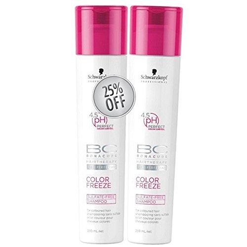 Schwarzkopf - BC COLOR FREEZE 4.5pH sulfate-free shampoo 250 ml