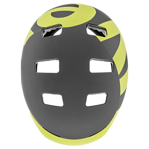 UVEX Erwachsene 5 Bike Pro Freeridehelm, Gray/Lime Mat, 58-61 - 5