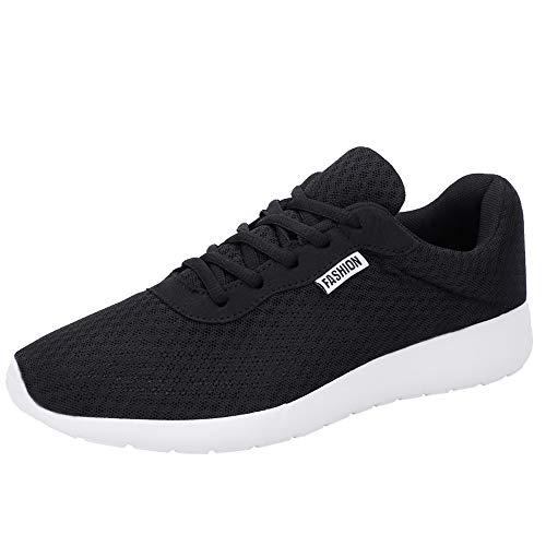 Solike Chaussures de Couple Femme Homme Chaussures de Sport Course Basket Lacets Fitness Confortable Sneakers Trail Running Shoes