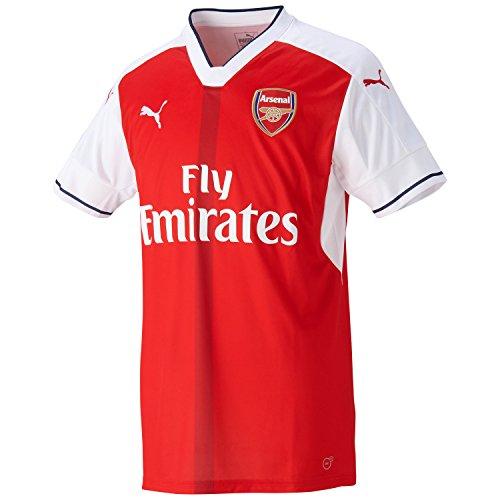 PUMA Herren Trikot AFC Home Replica Shirt, high risk red-white, 3XL, 749712 01 (Puma Lightweight-jersey)