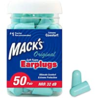 Mack's Ear Care Original Soft Foam Earplugs, 50 Pair by Mack's Ear Care preisvergleich bei billige-tabletten.eu