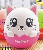 Sparschwein Spardose Cartoon Katze pink rosa riesig Kinder Kids Kätzchen Mode