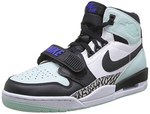 Nike Herren AIR Jordan Legacy 312 Basketballschuh, Schwarz (Black/Black-Igloo-Concord 013), 45 EU