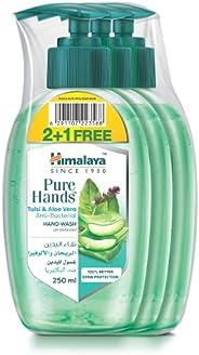 Himalaya Pure Hand Wash Tulsi & Aloe Vera, 3 x 25
