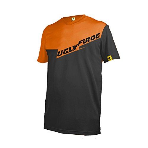 Uglyfrog DSJF02 2019 Jersey Mountain Bike Downhill Bike Jersey/Shirt Shirt Herren Kurzarm Radtrikot Fahrradtrikot Fahrradbekleidung für Männer Short Sleeve Sommer Style (Armour Kurzarm-jersey Under)