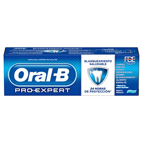oral-b dentífrico pro expert blancura saludable - 75 ml