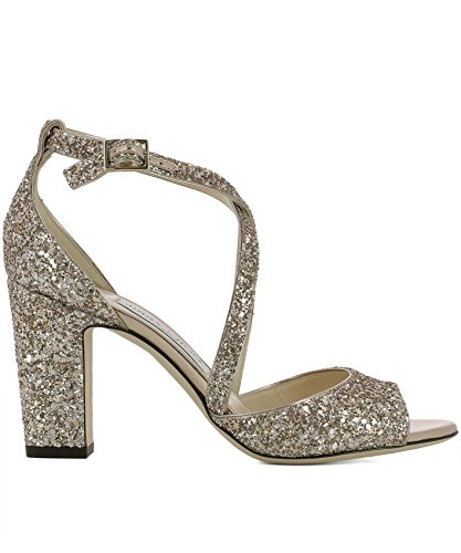 Jimmy-Choo-Womens-CARRIE85SA0BALLETPINK-Gold-Leather-Sandals