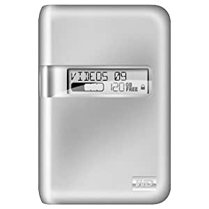 Western Digital WDBAAE5000ASL My Passport Studio 500 GB externe Festplatte (6,3 cm (2,5 Zoll), 7200rpm, 8 MB Cache, Firewire 800) silber