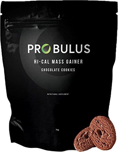 HI-CAL MASS GAINER de Probulus: producto para aumentar la MASA MUSCULAR completamente NATURAL. Ayuda a aumentar la masa magra y a aumentar de peso. Excelente en la fase de BULKING. (chocolate)