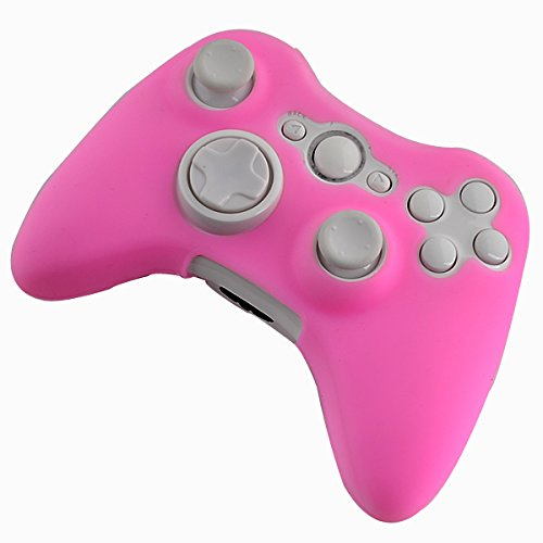 Controller Wireless Rosa Xbox 360 Für (Silikonhülle für Xbox 360 Wireless Controller - Candy Pink)