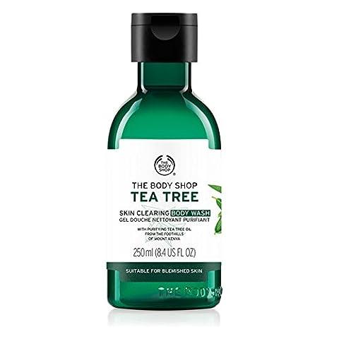 Le linge de Body Shop Arbre à thé Corps Gel Douche 250ml–Réduit l'acné/The Body Shop Tea Tree Body Wash Gel Douche 250ml–reduces Acne