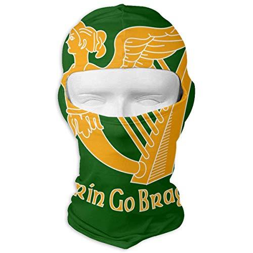 Rghkjlp Irish Flag Balaclava - Windproof Ski Mask - Motorcycle Full Face UV Protection Mask New6