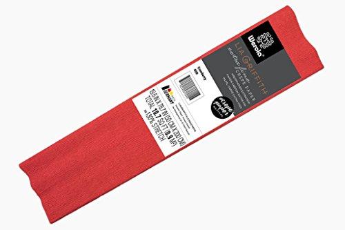 Lia Griffith Extra feine Crepe–verschiedene Farben, cranberry, 50 -