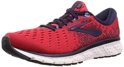 Brooks Glycerin 17, Zapatillas de Running para Hombre, Rojo Biking Red/Peacoat 683, 45.5 EU