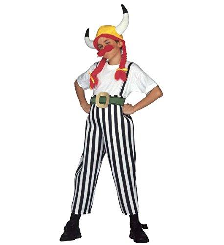 WIDMANN Kostüm Karneval Kinder, Jungen, Keltischer Krieger bekannten, Kämpfers * 19739, Mehrfarbig - Keltische Krieger Kostüm