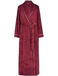 5fd0767d97 Slenderella GL8747 Women s Rasberry Red Robe Long Sleeve Dressing Gown