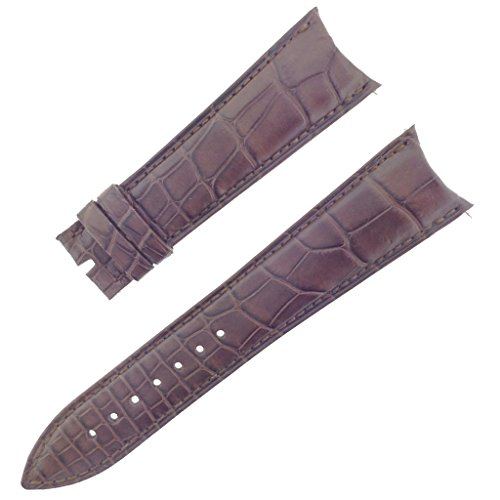 franck-muller-27k-22-18mm-genuine-alligator-leather-matte-brown-watch-band