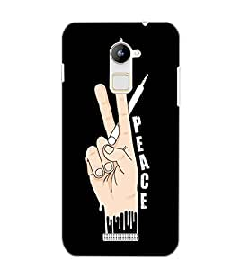 COOLPAD NOTE 3 LITE PEACE Back Cover by PRINTSWAG
