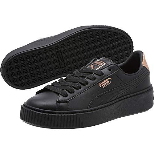 PUMA Basket Platform RG Damen Sneaker Puma Black-Rose Gold 4