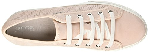 Geox  D Hidence A, Sneakers Basses femme Rose (Lt Pinkc8010)