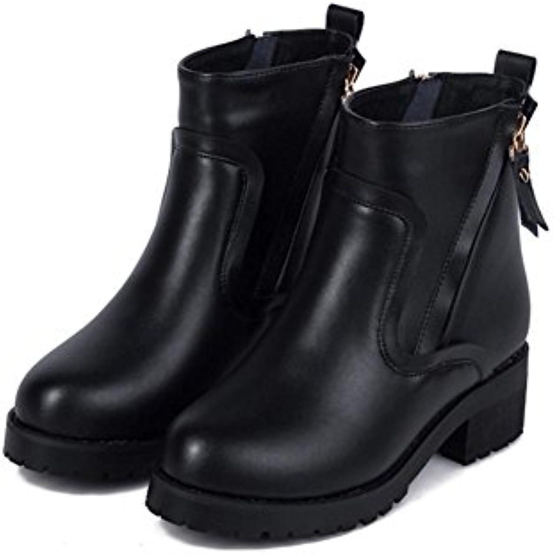CHENGREN Taille Bottes Courtes Dames Hiver Grande Taille CHENGREN Chaussures, 38B07K84VHB4Parent 4e833e