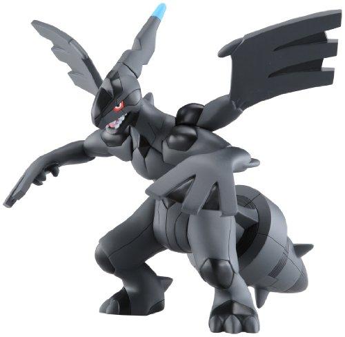 Preisvergleich Produktbild Pokemon: Best Wishes (Schwarz + Weiß) Action Figur: Zekrom 22 cm (mit Sound)