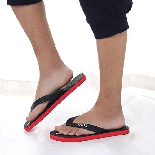 hunpta Chaussures Basses Pour Homme Noir