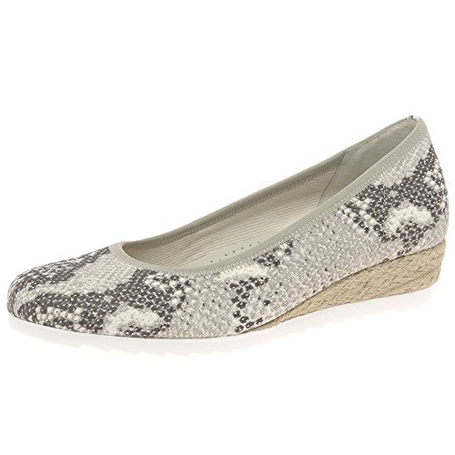 Gabor Shoes Comfort, Ballerines Femme River Flower Stamp