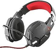 Trust Cuffie Gaming GXT 322 Carus con Microfono Flessibile, 3.5 mm Jack, Filo, Over Ear, Controllo del Volume