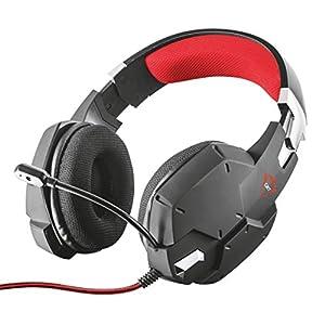 Trust Gaming GXT 322 Carus Gaming Headset Kopfhörer (mit flexiblem Mikrofon für PS4, Xbox One und PC) schwarz