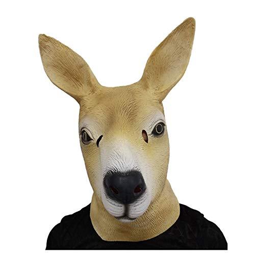 YaPin Neuheit Ostern Halloween Känguru-Maske auf Latexmaske aus Australien