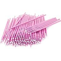 Microcepillos aplicadores, gasas para extensiones de pestañas, desechables