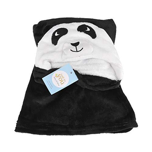 VVVVANKER Dessin animé animal Design bébé doudou housse peignoir confortable Cape Panda VVVVANKER