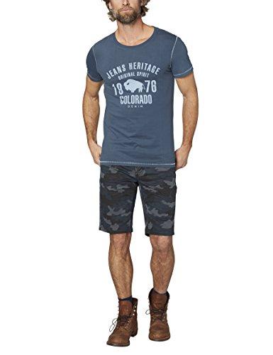 Colorado Denim Herren T-Shirt Kronos Blau (Midnight Navy 5016)