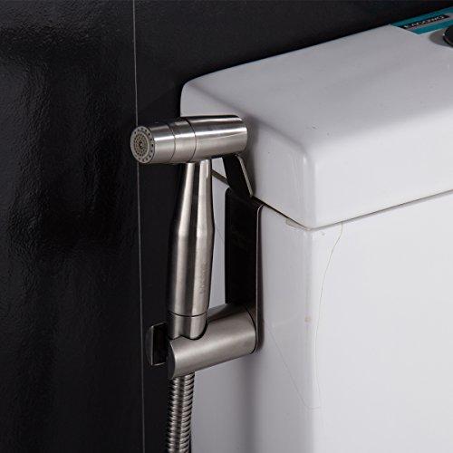 CIENCIA Hand Bidet Sprayer Premium Edelstahl Sprayer Shattaf – Nur Bidet Spray Kopf für WC, Wasser WC Reinigung Attachments, WS024A