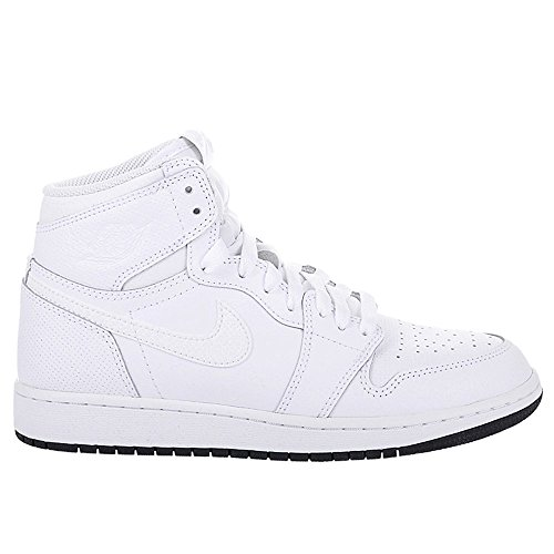 Nike - Air Jordan 1 Retro High OG BG - 575441002 - Color: Negro-Blanco - Size: 37.5 47IQ1