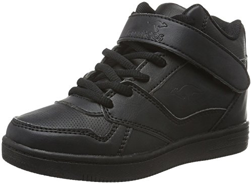 KangaROOS Unisex-Kinder Skyline Kids High-Top, Schwarz (Black 500), 34 EU