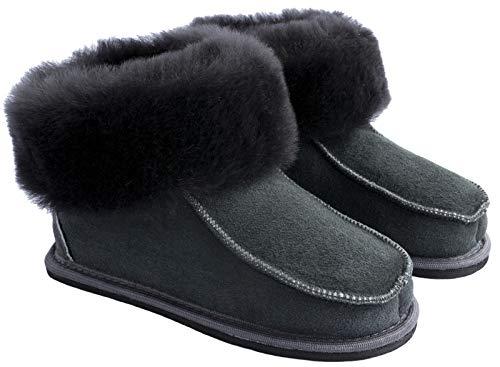 Yeti & Sons ,  Herren Mokassin Stiefel, Grau - Graphit - Größe: 43
