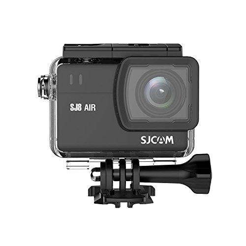 "SJCAM SJ8 Air 1296P WiFi Sports Action Camera 2.33"" Retina Ips Display - Black Full Set Instant Camera(Black) 1"