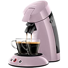 Senseo Original - Cafetera (Independiente, Máquina de café en cápsulas, 0,7 L, Dosis de café, 1450 W, Violeta)