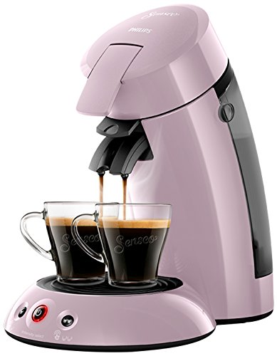 Philips hd6554/31Maschine Kaffeepadmaschine Senseo Original Rosa Pastell 0, 75Liter