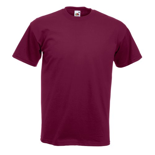Fruit of the Loom Super Premium T-Shirt Burgundy