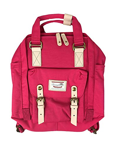 Reeseiy Unisex Macaroon Rucksack Notebook Rucksack Vintage Casual Jugendliche Notebooktasche Daypacks (Color : Cherry, Size : One Size) - Cherry Notebooktasche