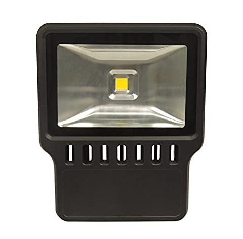 4-Pack 100W 90-265VAC Daylight White LED Flood Scurity Light 9600-10500Lm IP65 Waterproof Protection 120 Degree Beam Angle for Outdoor AL-TGL100W