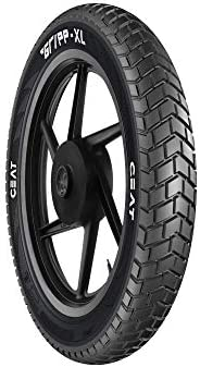 Ceat Gripp XL 120/90 -17 64S Tube Type Bike Tyre, Rear (Home Delivery)