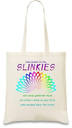 some-people-are-like-slinkies-tasche