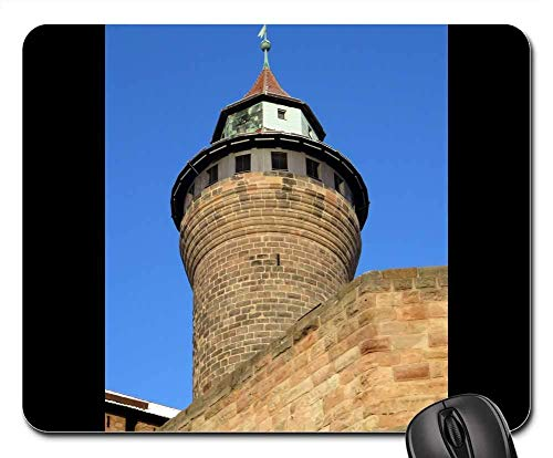 Mouse Pad - Imperial Castle Nuremberg Tower Castle Middle Ages Non-Slip Mouse pad Imperial Castle