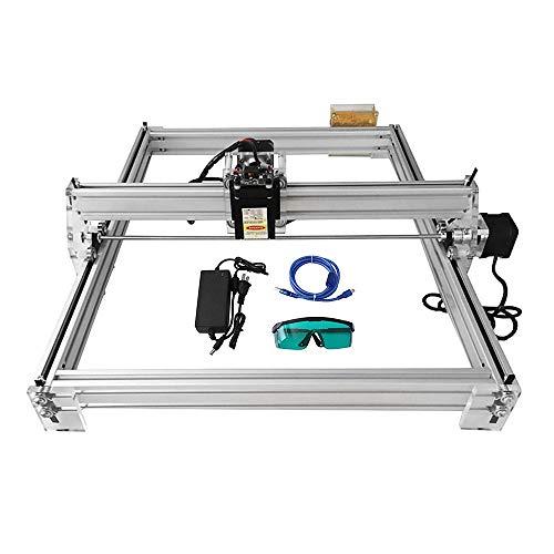 HUKOER 40X50 CM Kits grabador láser CNC bricolaje
